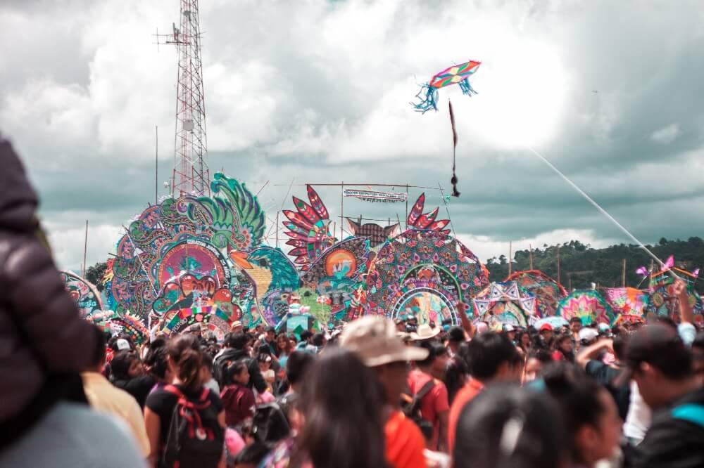 Drachenfest in Guatemala Einleitung