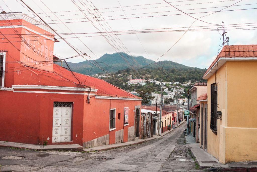 Quetzaltenango in Guatemala Aussicht
