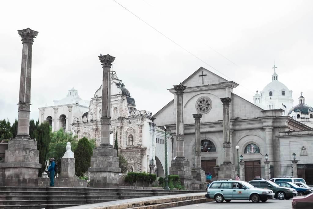 alte Gebäude in Xela
