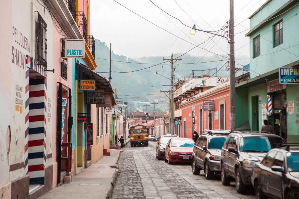 Straßen in Xela