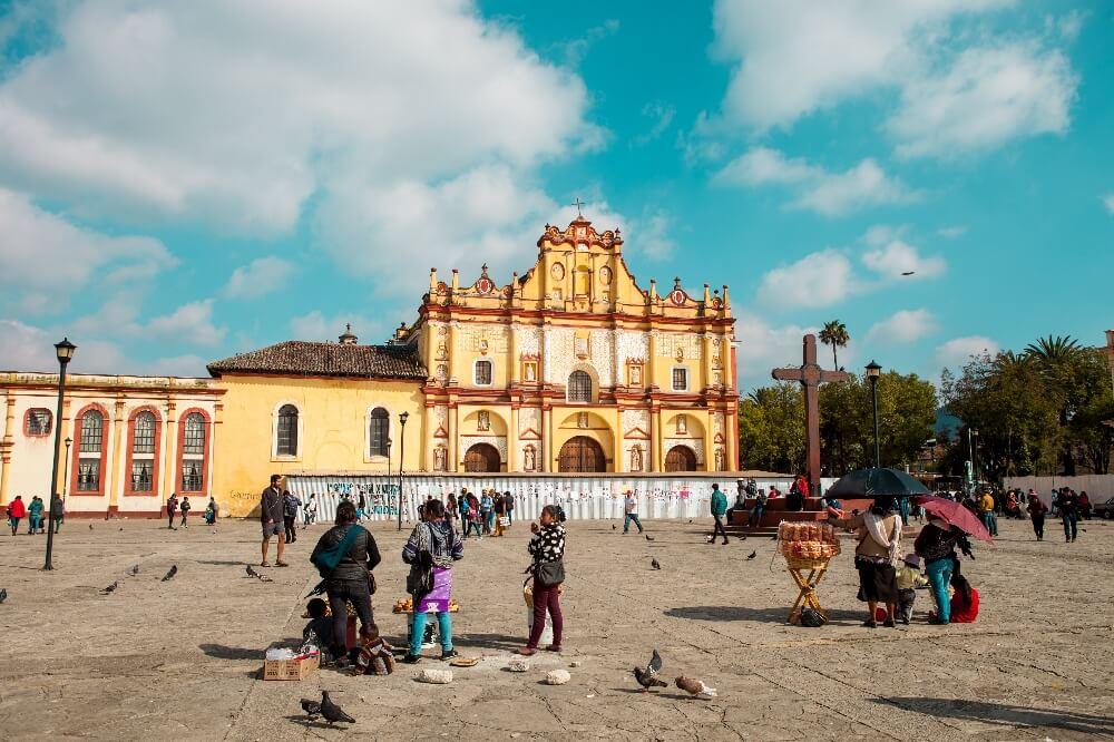 Kirche San Cristobal de las Casas