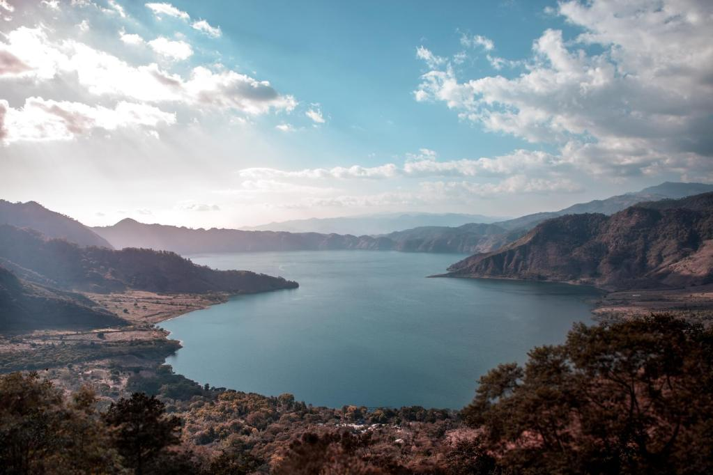 Laguna de Ayarza in Guatemala See