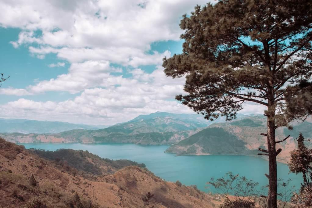 Ausblick auf die Laguna