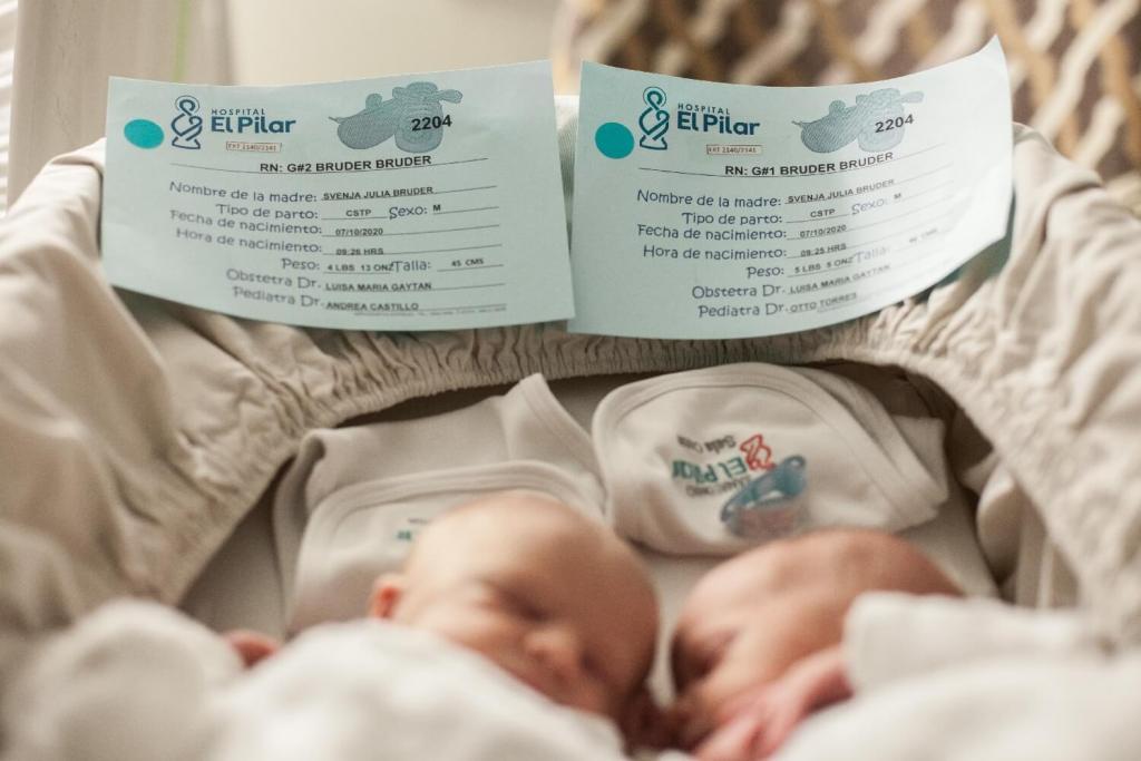 Geburt meiner Zwillinge Krankenhaus
