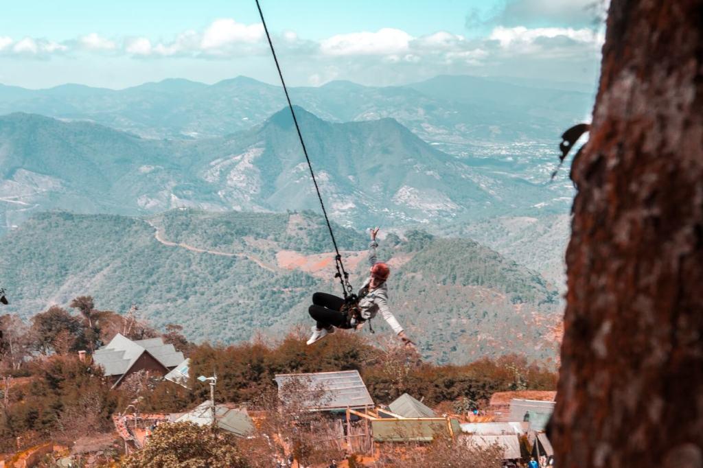 Ausflüge ab Guatemala Stadt Riesenschaukel