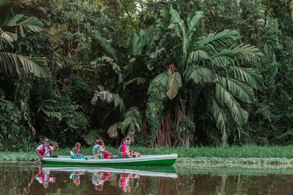 Tortuguero Nationalpark in Costa Rica Kanutour
