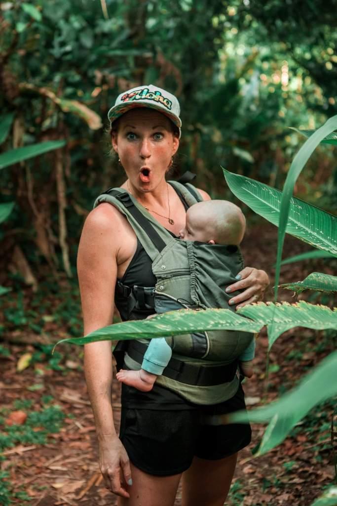 Svenja im Dschungel
