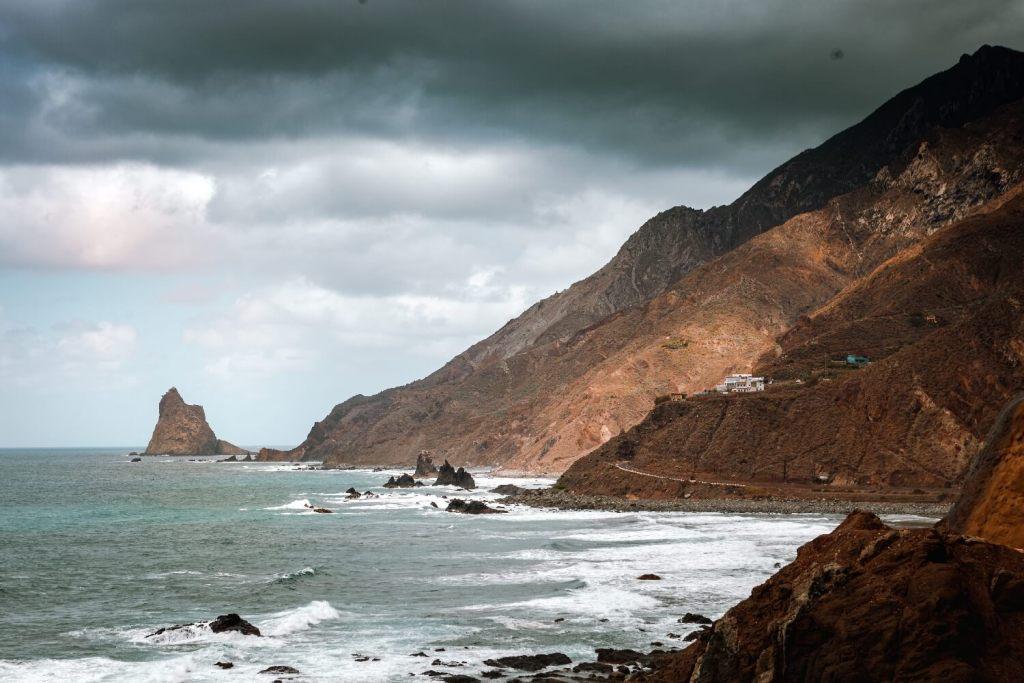 Route durch das Anaga Gebirge auf Teneriffa Nordküste