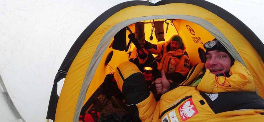 K2 Polish Winter Expedition tent