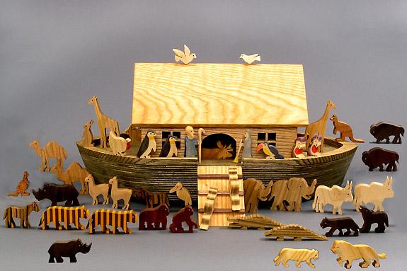 noah s ark wooden toy