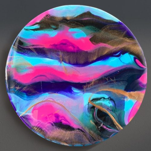 Resin painting