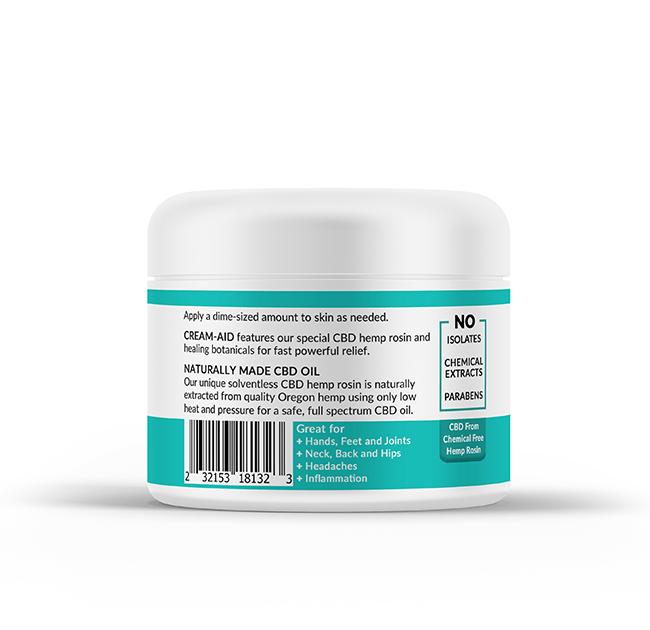 Organic CBD Cream, Extra Strength