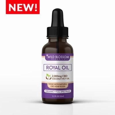 CBD Oil 2,000mg - Royal Oil