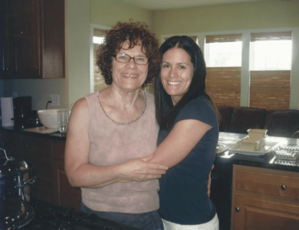 Danielle and her mom