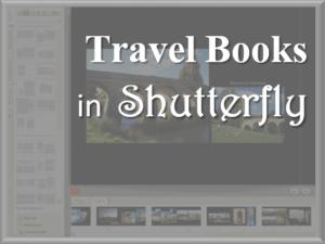 Shutterfly Travel Books