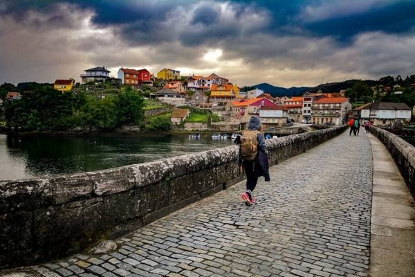 24 Hours In Arcade On The Portuguese Camino De Santiago.