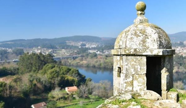 24 Hours In Valenca on the Portuguese Camino de Santiago.