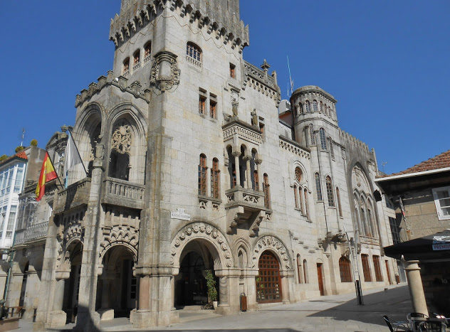 24 Hours In O'Porrino On The Portuguese Camino De Santiago.