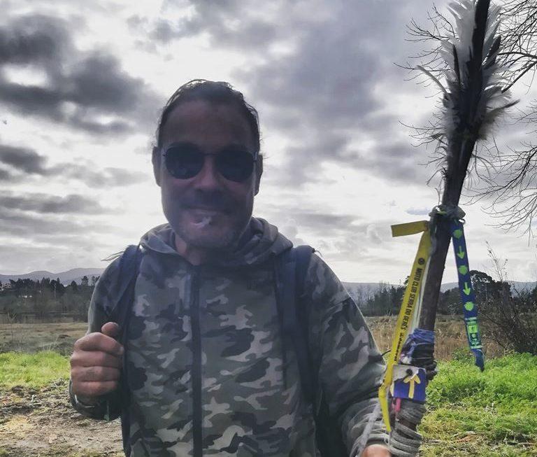 Meet Rui. Walking The Camino de Santiago Medieval Style.