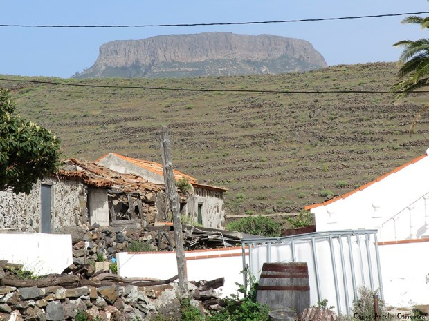 Gerián - La Gomera - la fortaleza - chipude