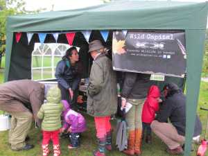 London Wildlife Event Stand Community Activity Apple Day 2013