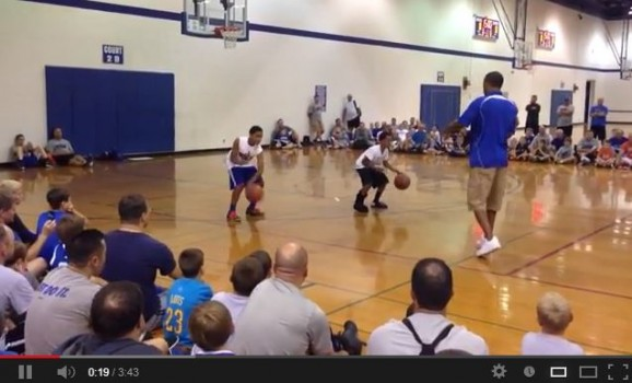 Video:  Rod Strickland has some very talented sons