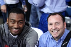 John Wall with Walter Cornett