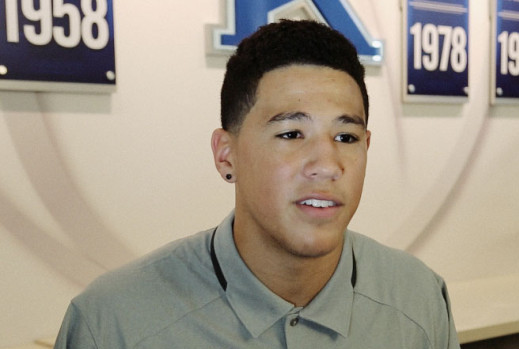 Devin Booker admits he is a momma's boy