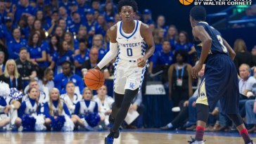 De'Aaron Fox - photo by Walter Cornett