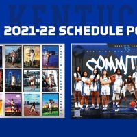 Kentucky Men's and Women's Basketball Posters for 2021-2022 Unveiled
