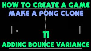 Pong Clone 11