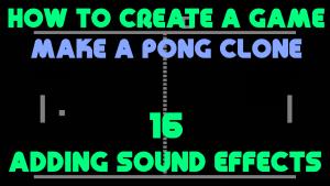 Pong Clone 16