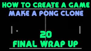 Pong Clone 20