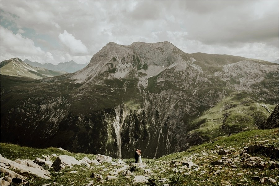 An After wedding shoot in Lech valley by Wild Connections Photography - Adventure wedding photographer in Austria