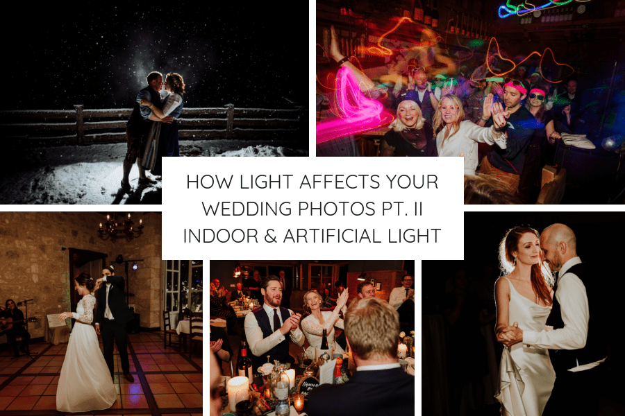 How light affects your wedding photography indoor and artificial by Wild Connections Photography