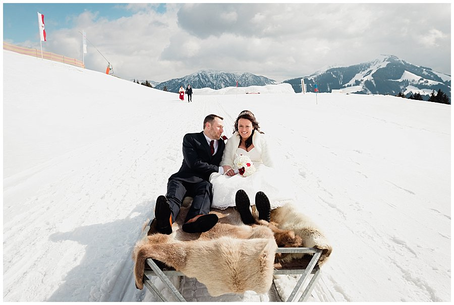 Wedding Ski-Doo