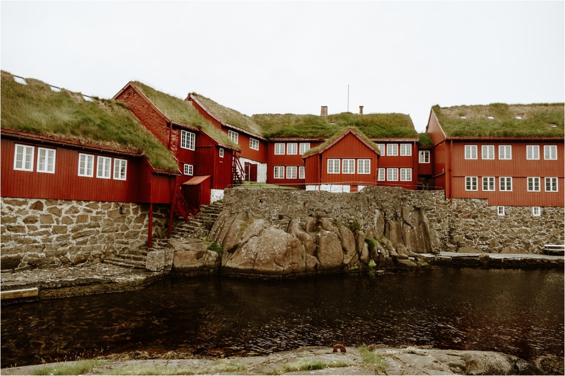 An elopement in Torshavn in the Faroe Islands by Wild Connections Photography