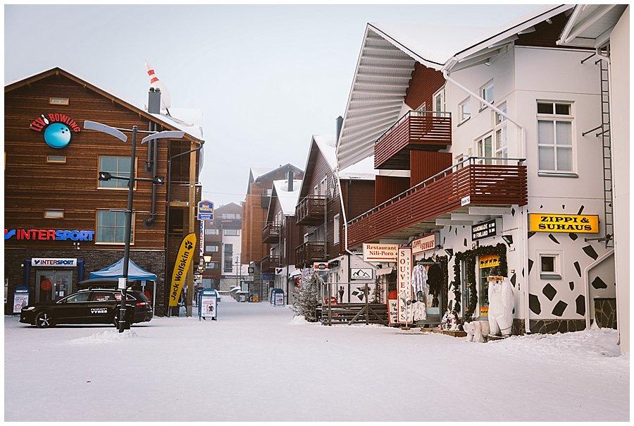 Levi Lapland village centre by Wild Connections Photography