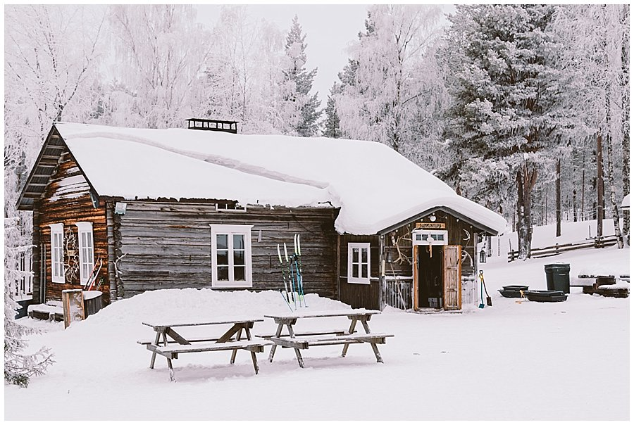 Reindeer Farm Levin Sammuntupa outside in Levi Finland by Wild Connections Photography