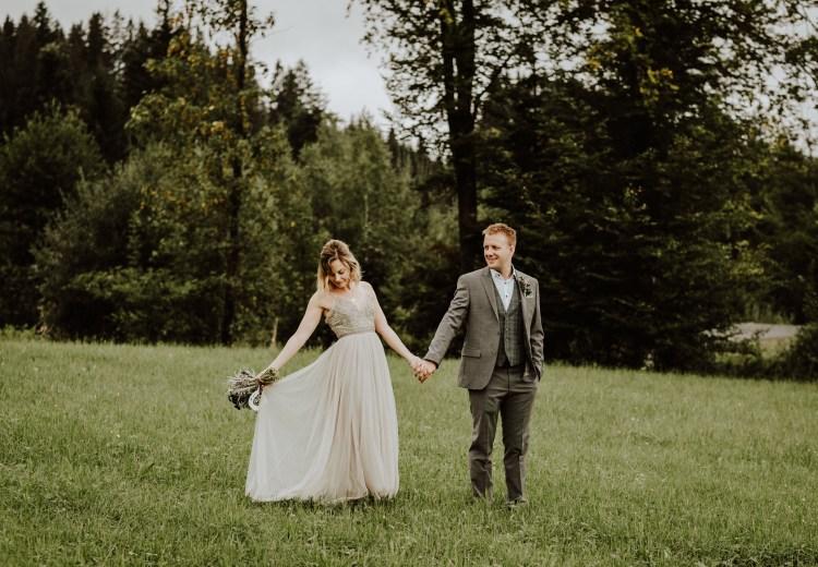 Alice & Dom's Berggasthaus Grander Schupf wedding in St Johann in Tirol by Wild Connections Photography