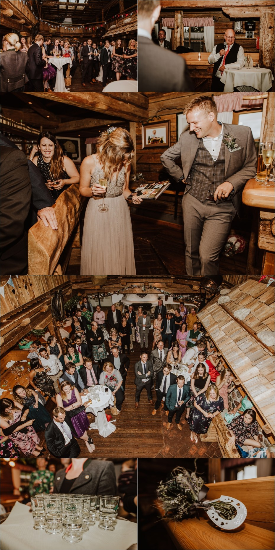 A ski lodge wedding in the summer in Austrian Alps by Wild Connections Photography