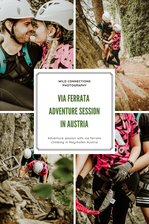 Mayrhofen Austria Via Ferrata Adventure Session by Wild Connections Photography