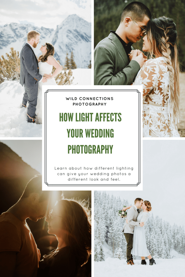 How Light Affects Your Wedding Photos By Wild Connections Photography