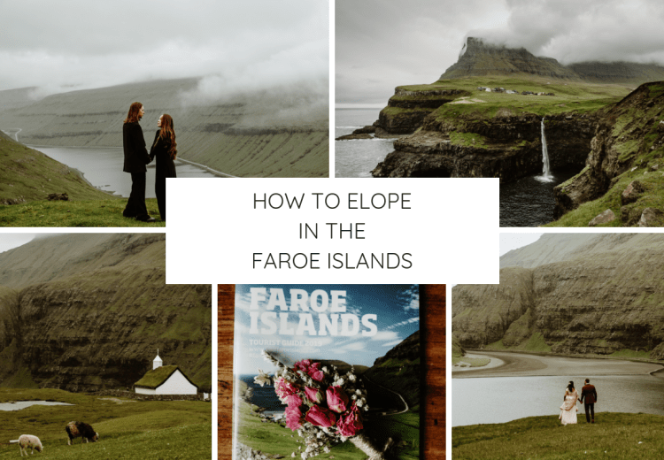 How to elope in the Faroe Islands blog graphic by Wild Connections Photography
