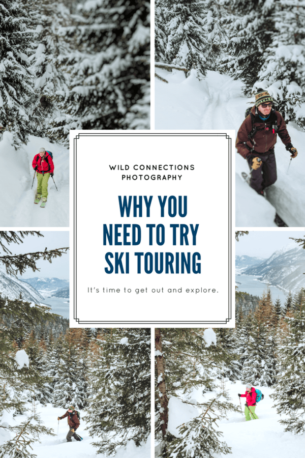 Why you need to try ski touring on your next winter holiday by Wild Connections Photography