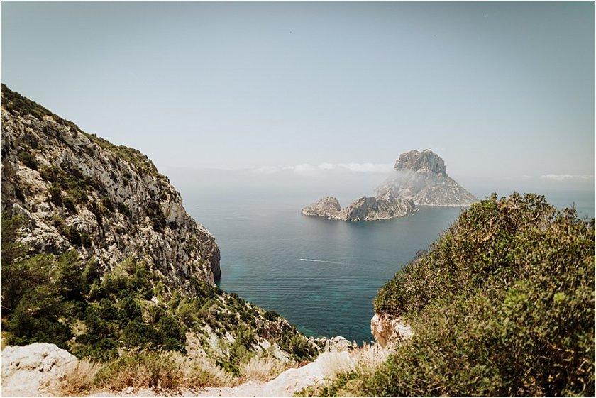 Ibiza coastline photo