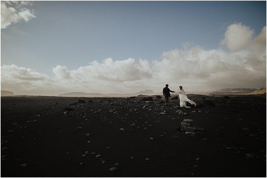 Iceland Black Beach Wedding