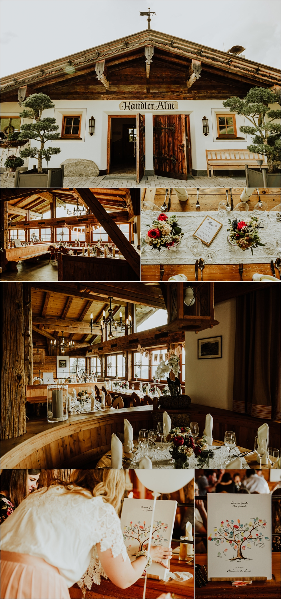 A wedding reception in the Kandler Alm in Tirol by Wild Connections Photography