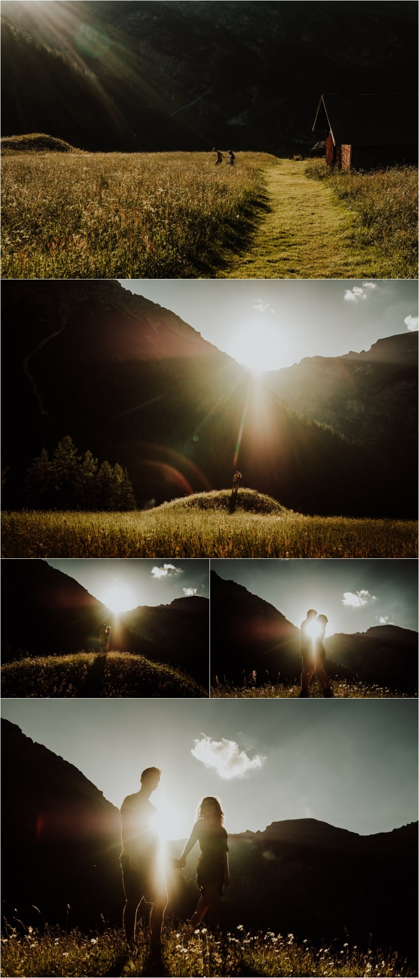 Engagement session adventure shoot in the Austrian Alps by Wild Connections Photography