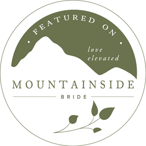 Mountainside Bride Featured Badge